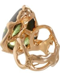 Lucifer Vir Honestus - Pink Peridot Ring - Lyst