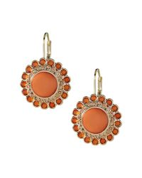 Banana Republic - Orange Colorful Drop Earring - Lyst