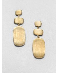 Marco Bicego - Metallic Murano 18k Yellow Gold Drop Earrings - Lyst