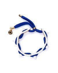 Caroline Baggi - Electric Blue Punky Bracelet - Lyst