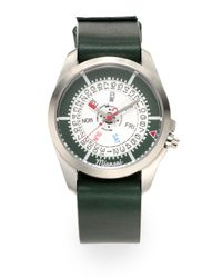 Miansai - Green M1 Stainless Steel Watch - Lyst