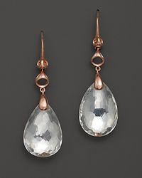 Di Modolo | Pink Rock Crystal Earrings | Lyst