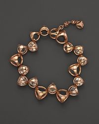 Di Modolo - Pink Single Row Rock Crystal Triadra Bracelet - Lyst