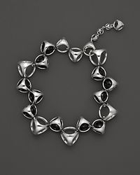 Di Modolo - Metallic Sterling Silver and Black Onyx Icon Bracelet - Lyst