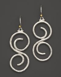 Gurhan | Metallic Vortex Earrings | Lyst