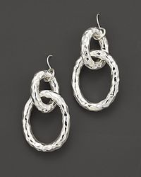 Ippolita - Metallic Sterling Silver Glamazon® Chain Link Earrings - Lyst
