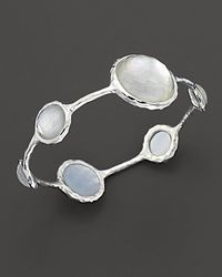 Ippolita - Metallic Sterling Silver Wonderland Lollipop Bangle In Mother-Of-Pearl - Lyst