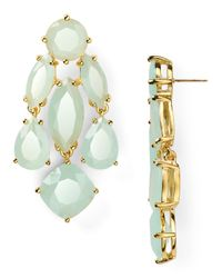 kate spade new york - Blue Statement Earrings - Lyst
