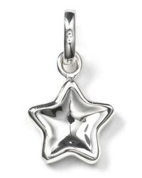 Links of London - Metallic Thumbprint Star Charm - Lyst
