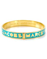Marc By Marc Jacobs | Yellow Logo Bangle | Lyst