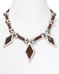 Marc By Marc Jacobs - Metallic Blixen Necklace - Lyst
