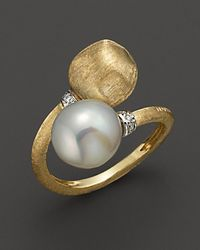 Marco Bicego | Africa Pearl Collection 18k Yellow Gold and Pearl Ring | Lyst