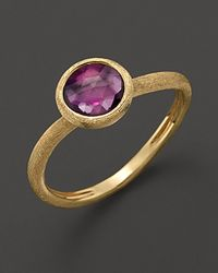 Marco Bicego - Yellow Amethyst Stackable Jaipur Ring - Lyst