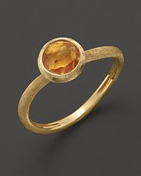 Marco Bicego | Yellow Citrine Stackable Jaipur Ring | Lyst