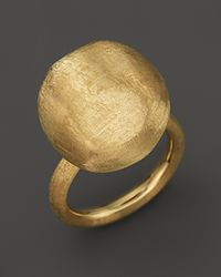 "Marco Bicego | Large 18k Yellow Gold ""africa Gold"" Ring 