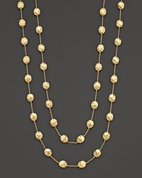"Marco Bicego | Metallic ""siviglia Collection"" Large Bead Gold Necklace, 36"" 