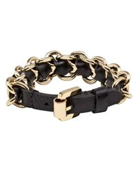 Mulberry | Black Chain Bracelet | Lyst