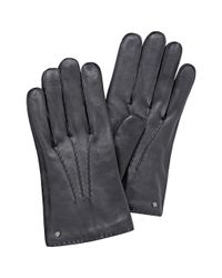 Mulberry - Gray Formal Gloves - Lyst