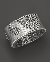 Paul Morelli | Metallic Applique Cuff In Sterling Silver | Lyst