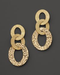 Roberto Coin | 18K Yellow Gold Chic & Shine Earrings | Lyst