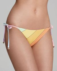 Wildfox - Pineapple Princess Vintage Rainbow String Bikini Bottom - Lyst