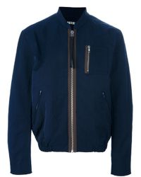 Acne Studios | Blue Cusack Biker Jacket for Men | Lyst