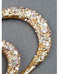 Alexis Bittar | Metallic Oval Hoop Earrings | Lyst