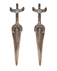Alkemie - Metallic Sword Earring - Lyst
