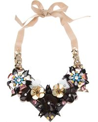 Amen | Multicolor Embellished Necklace | Lyst