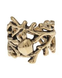 Aurelie Bidermann | Metallic Tree Arm Apple Ring | Lyst