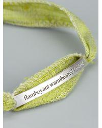 Bjorg - Green Magick Moon Bracelet - Lyst