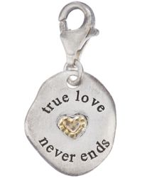 Bjorg | Metallic True Love Never Dies Pendant | Lyst
