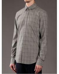 Blaak | Gray Glencheck Shirt for Men | Lyst