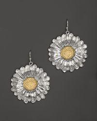 Buccellati - Metallic Daisy Medium Hook Earrings - Lyst
