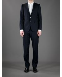 Burberry | Blue Classic Suit for Men | Lyst