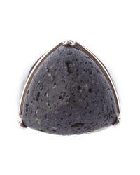 Eddie Borgo | Metallic Pyramid Ring | Lyst