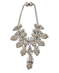 Erickson Beamon - Metallic Cluster Necklace - Lyst