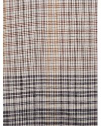 Faliero Sarti - Brown Kenzy Cotton Silk Scarf for Men - Lyst