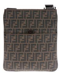 Fendi | Brown Monogram Shoulder Bag for Men | Lyst