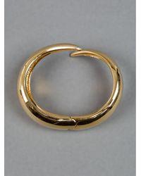 Giuseppe Zanotti - Metallic Twisted Bracelet - Lyst