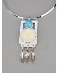 Holly Fulton - Metallic Cindy Pendant Necklace - Lyst
