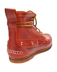H by Hudson - Red Mesquite Boot for Men - Lyst