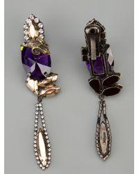 Iosselliani - Multicolor Clipon Rams Head Earrings - Lyst