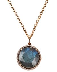 Irene Neuwirth | Metallic Locket Necklace | Lyst