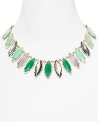 Kendra Scott | Green Nalin Necklace 18 | Lyst