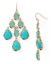 Kendra Scott | Metallic Amelia Earrings | Lyst