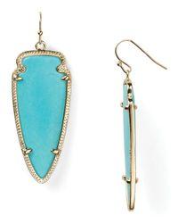 Kendra Scott - Blue Skylar Earrings - Lyst