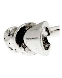 Lady Grey - Metallic Cheval Ring - Lyst