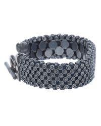 Laura B - Gray Casablanca Bracelet for Men - Lyst