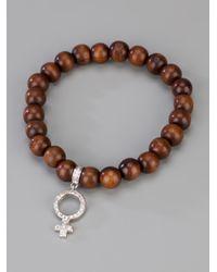 Loree Rodkin - Brown Beaded Bracelet - Lyst